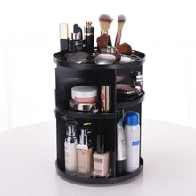 Load image into Gallery viewer, 360-Degree Rotating Makeup Organizer Adjustable Multi-Function Cosmetic Storage Box