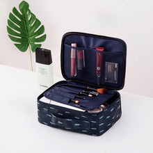 Load image into Gallery viewer, 300D Oxford Mult-layer  Portable Travel Wash Cosmetic Bag