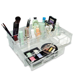 #COM0313 Luxury Acrylic Makeup Organizer with Drawer