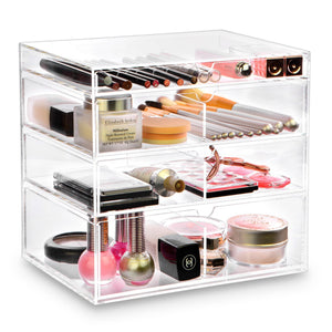 #COM065 Acrylic Makeup Organizer Storage Box