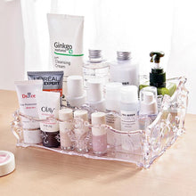 Load image into Gallery viewer, Clear Acrylic Makeup Organizer  Cosmetic Storage Box