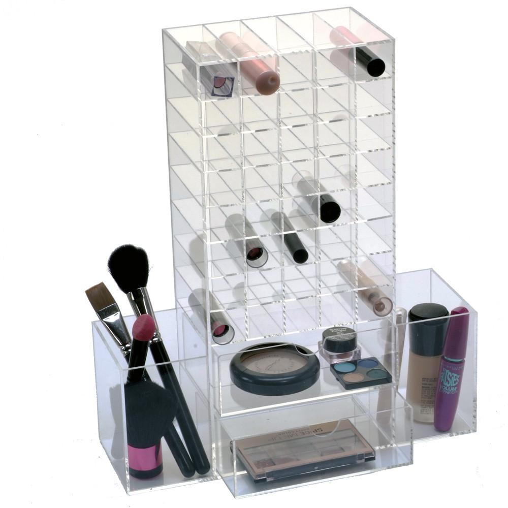 #COM061 All in One Premium Acrylic Makeup Organizer Unit