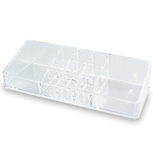 #COM067 Acrylic Makeup Organizer with 11 Compartments