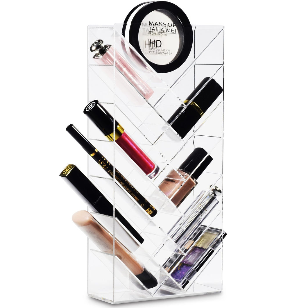 #COM4614 Acrylic Makeup Organizer Lipstick Rack Lip-gloss Holder