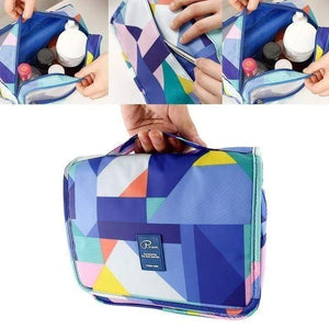 Geometric Travel Toiletry Bags