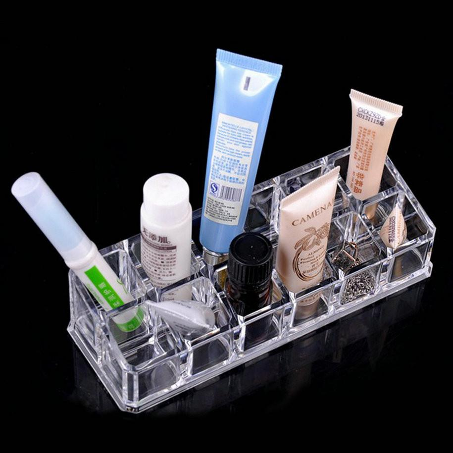 12 Lipstick Stand Cosmetic Holder