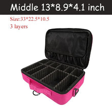 Load image into Gallery viewer, Cosmetic Bag Travel Makeup Organizer