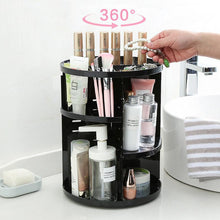 Load image into Gallery viewer, Rotating Makeup Organizer Box 360°