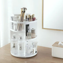 Load image into Gallery viewer, Fashion 360-degree Rotating Makeup Organizer Box