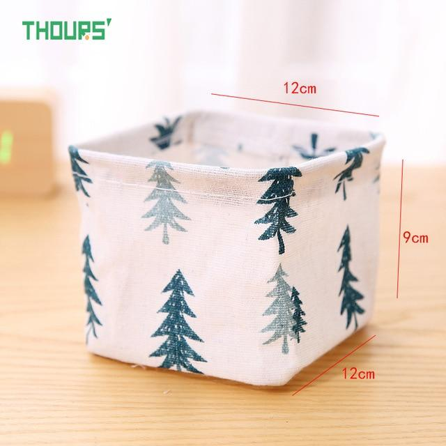 1 Pc Desktop Storage Basket Sundries Underwear Toys Box Cosmetics Small Items Finishing Container Makeup Organizer Case