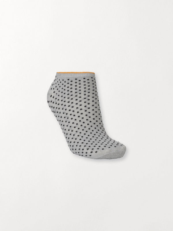 Becksöndergaard, Dollie Dot - Grey Melange, socks, classics, 4for3, 4 for 3 socks