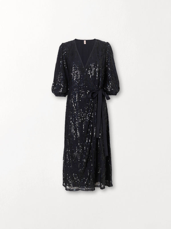 Becksöndergaard, Glitrio Holiday Dress - Black, clothing, clothing