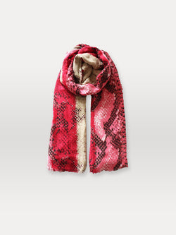 Becksöndergaard, Sigva Mowo Scarf - Red, outlet flash sale, outlet flash sale, mid season sale, mid season sale, sale, sale