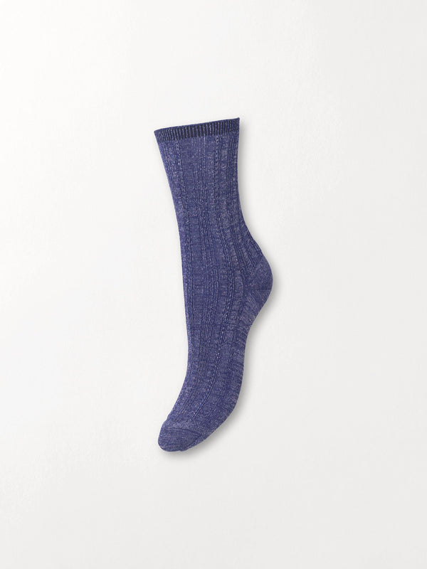 Becksöndergaard, Glitter Drake Sock - Royal Blue, gifts, sale, sale