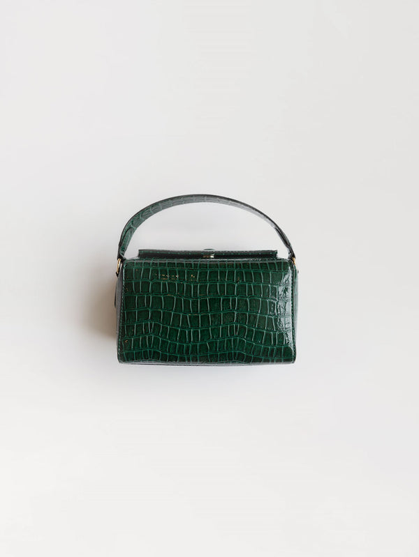 Becksöndergaard, Croc Box Bag  - Duck Green , bags, bags