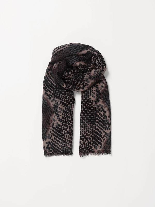 Becksöndergaard, Russel Siw Scarf - Black, outlet flash sale, outlet flash sale, sale, sale