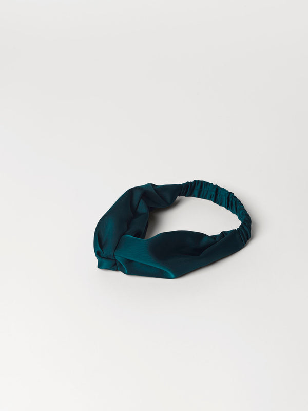 Becksöndergaard, Rufa Hairband - Deep Teal, accessories, accessories, gifts
