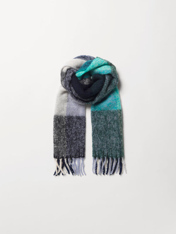 Becksöndergaard, Check Ingria Scarf - Night Sky, scarves, scarves