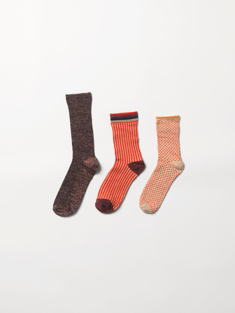 Becksöndergaard, Sock Giftbox 3 pack nr. 10 - Mix Colour, gifts, gifts