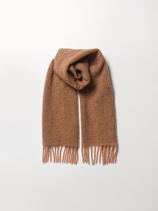 Becksöndergaard, Solid Ibbia Scarf - Soft Beige, outlet flash sale, outlet flash sale, sale, sale