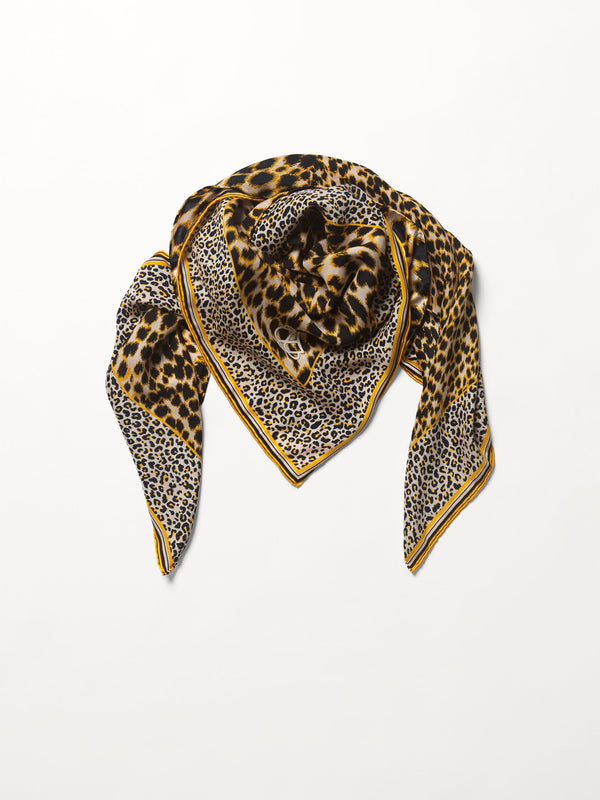 Becksöndergaard, Leoporo Sia Scarf - Bamboo, scarves, outlet flash sale, outlet flash sale, mid season sale, mid season sale, sale, sale