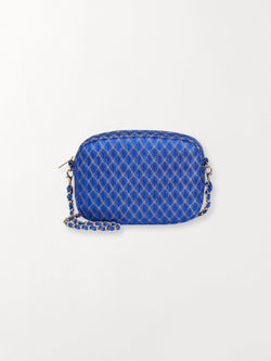 Becksöndergaard, Leaf Paya Bag  - Bright Blue, outlet flash sale, outlet flash sale