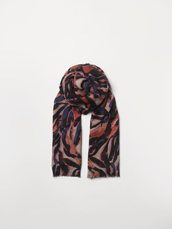 Becksöndergaard, Zetie Siw Scarf - Brownish, scarves, outlet flash sale, outlet flash sale, mid season sale, mid season sale, sale, sale