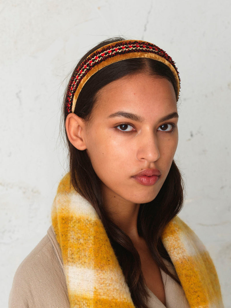 Becksöndergaard, Lovett Hairbrace - Golden Yellow, outlet flash sale, outlet flash sale