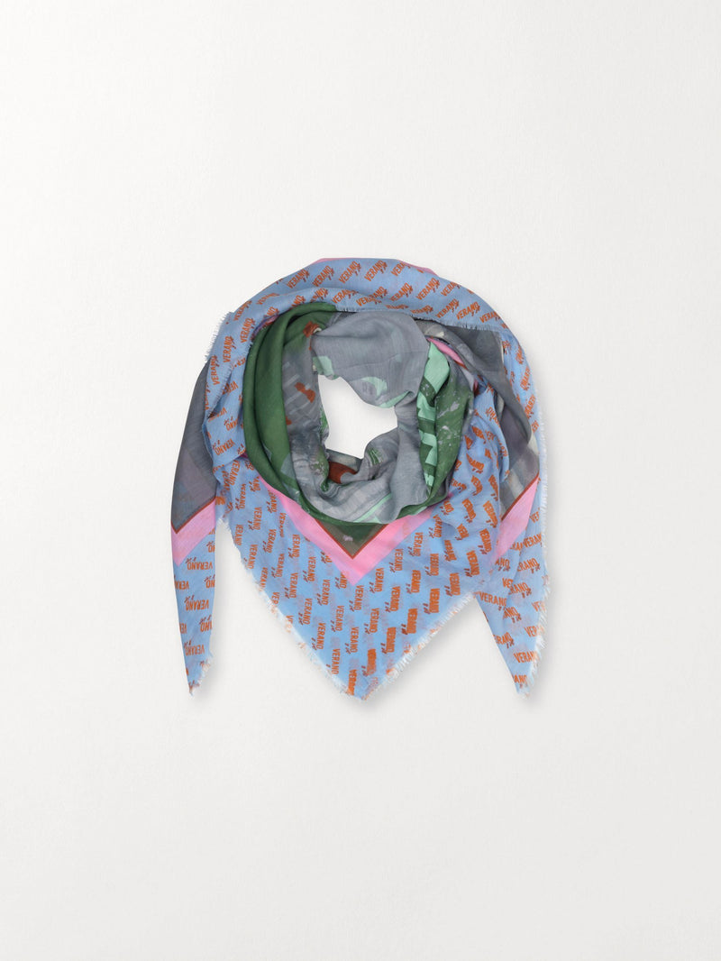 Becksöndergaard, Milan Scarf - Multi Col., outlet flash sale, outlet flash sale
