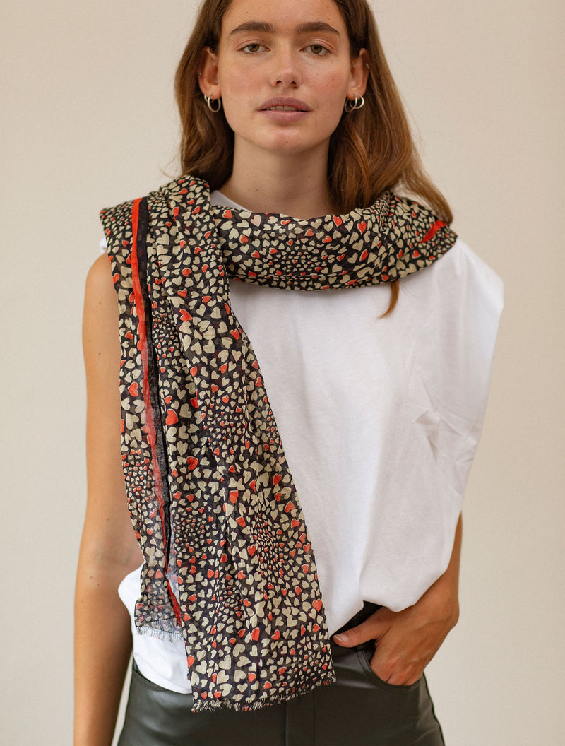Becksöndergaard, Corazo Corga Scarf  - Night Sky, outlet, outlet, sale, sale