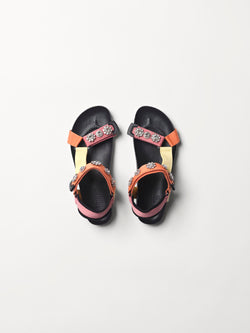 Becksöndergaard, Velcro Galia Sandal Pack - Multi Col., accessories