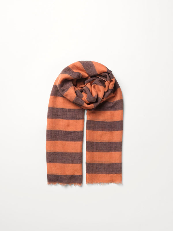 Becksöndergaard, Liney Siw Scarf  - Muted Clay, scarves, scarves, mid season sale, mid season sale