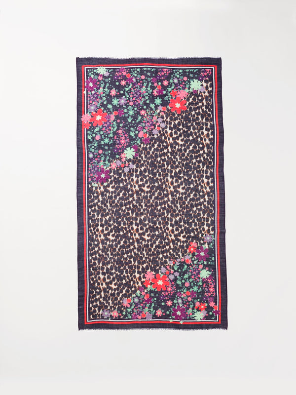 Becksöndergaard, Flairleo Siw Scarf  - Multi Col., outlet flash sale, outlet flash sale, mid season sale, mid season sale, sale, sale