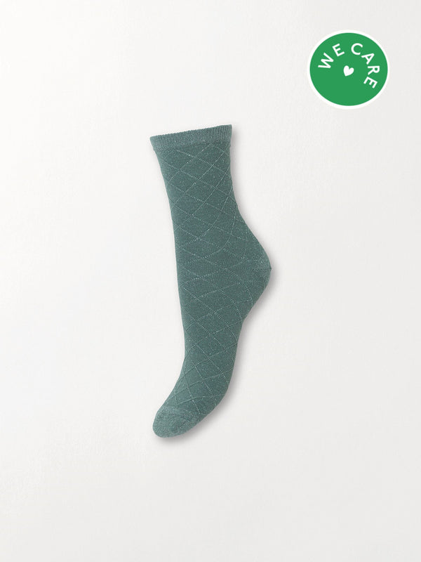 Becksöndergaard, Square Dalea Sock - Granite Green, gifts, sale, sale