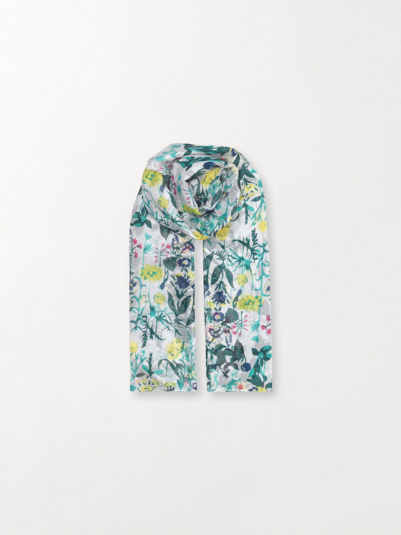 Becksöndergaard, Francisco Scarf - Green, outlet flash sale, outlet flash sale