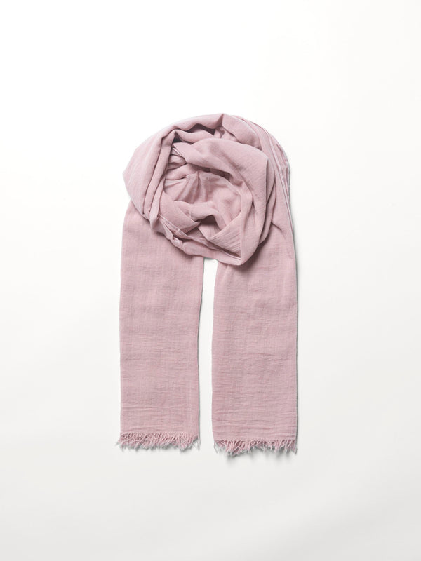 Becksöndergaard, Solid Gaze Ilkana Scarf - Adobe Rose, scarves, scarves, mid season sale, mid season sale, gifts