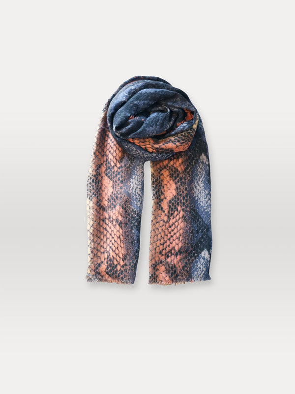Becksöndergaard, Sigva Mowo Scarf - Blue, outlet flash sale, outlet flash sale, mid season sale, mid season sale, sale, sale