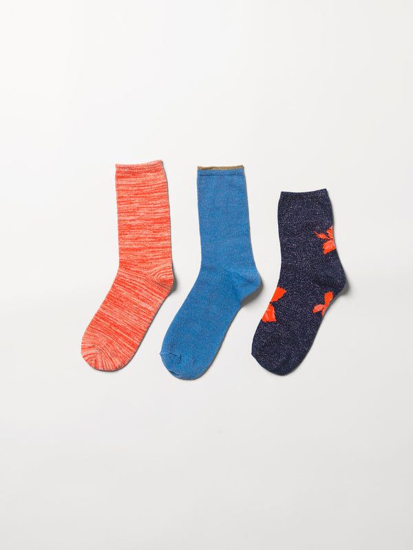 Becksöndergaard, Sock giftbox 3 pack nr. 8* - Mix Colour, gifts, gifts