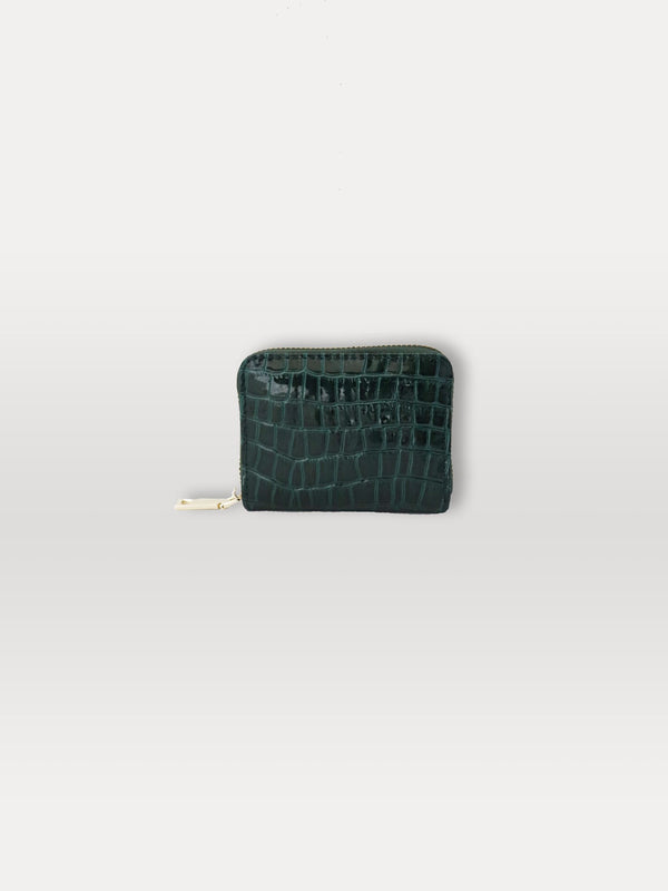 Becksöndergaard, Croc Wallet - Duck Green , accessories, wallets, accessories, wallets, accessories