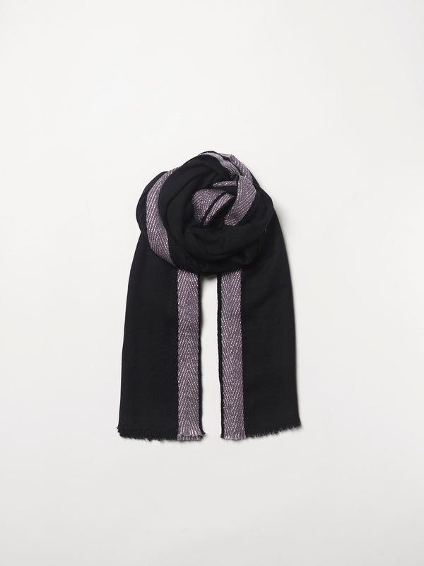Becksöndergaard, Bajana Woo Scarf - Black, outlet flash sale, outlet flash sale, mid season sale, mid season sale, sale, sale