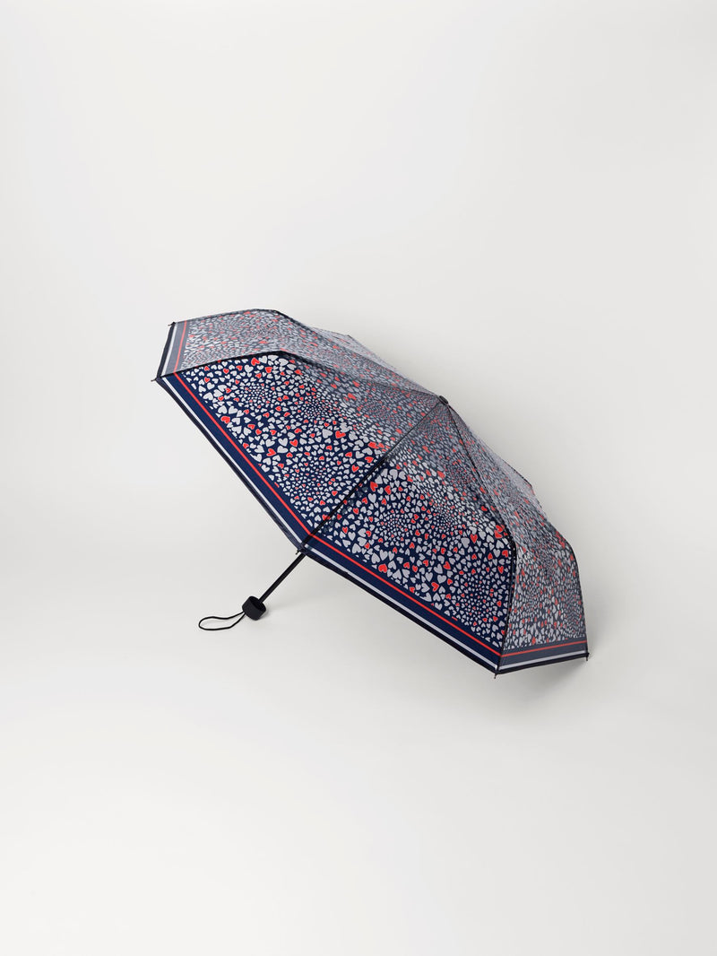 Becksöndergaard, Corazo Transparent Umbrella - Blue, accessories, accessories, clothing