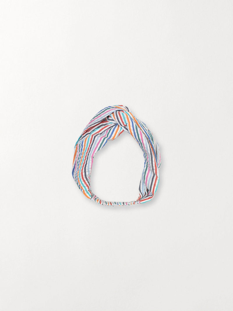 Becksöndergaard, Multi Stripes Hairband - Green, outlet, outlet