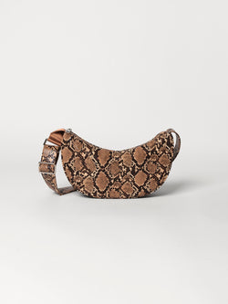 Becksöndergaard, Snake Moon Bag  - Brownish, outlet flash sale, outlet flash sale