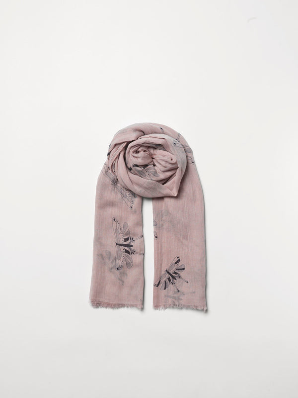 Becksöndergaard, Moltheo Como Scarf - Rose Dust, scarves, outlet flash sale, outlet flash sale, mid season sale, mid season sale, sale, sale