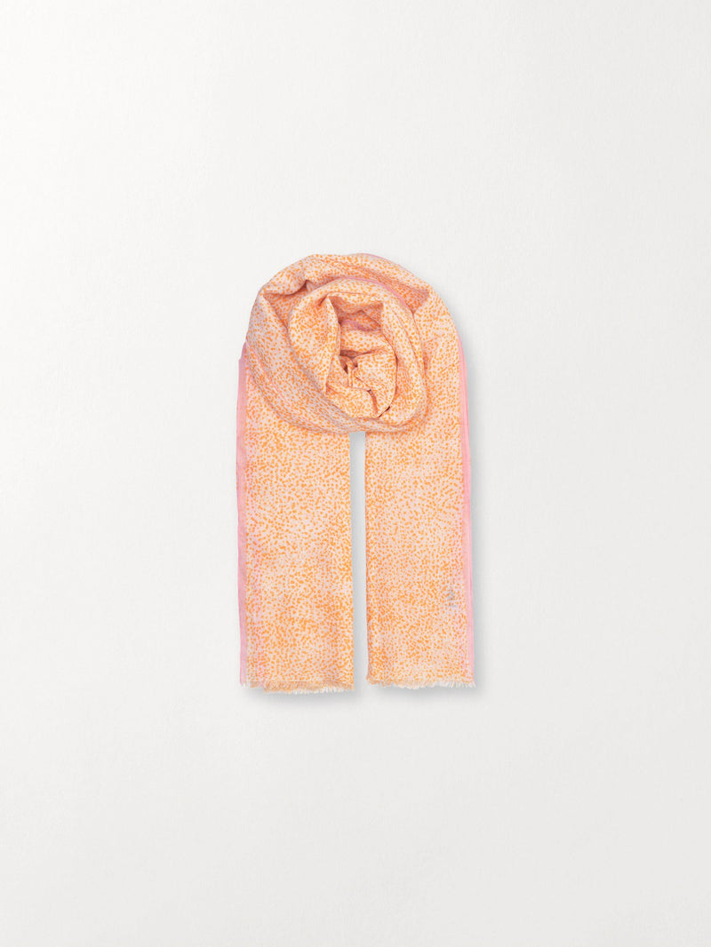 Becksöndergaard, Inky Dots Scarf - Orange, outlet, outlet