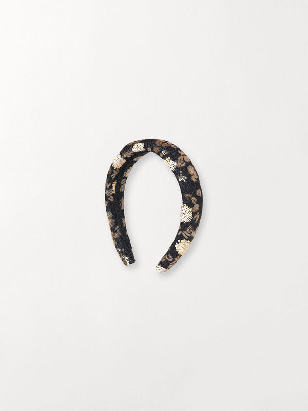 Becksöndergaard, Noelle Hairbrace - Black, outlet flash sale, outlet flash sale
