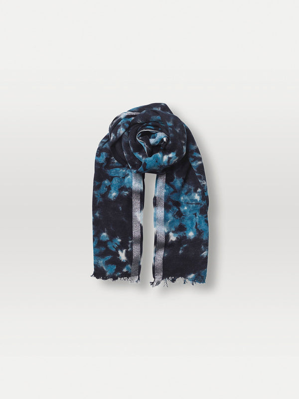 Becksöndergaard, Dingle Como Scarf - Blue, outlet flash sale, outlet flash sale, mid season sale, mid season sale, sale, sale