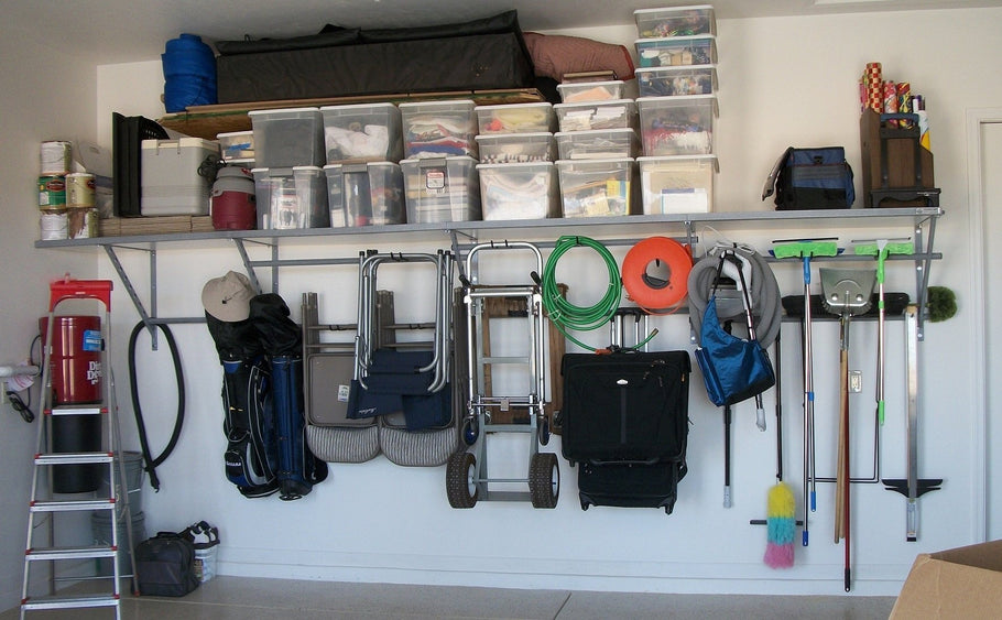 Chances are, stuff has accumulated in your garage over the years