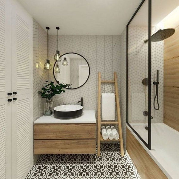Home Decorating Ideas Bathroom Excite Your Site visitors with These 14 Cute Half-Bathroom Layouts  #bathroomsin…