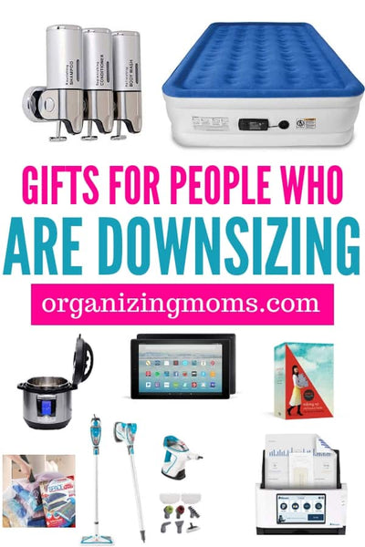 Inside: Practical gifts for people who are downsizing